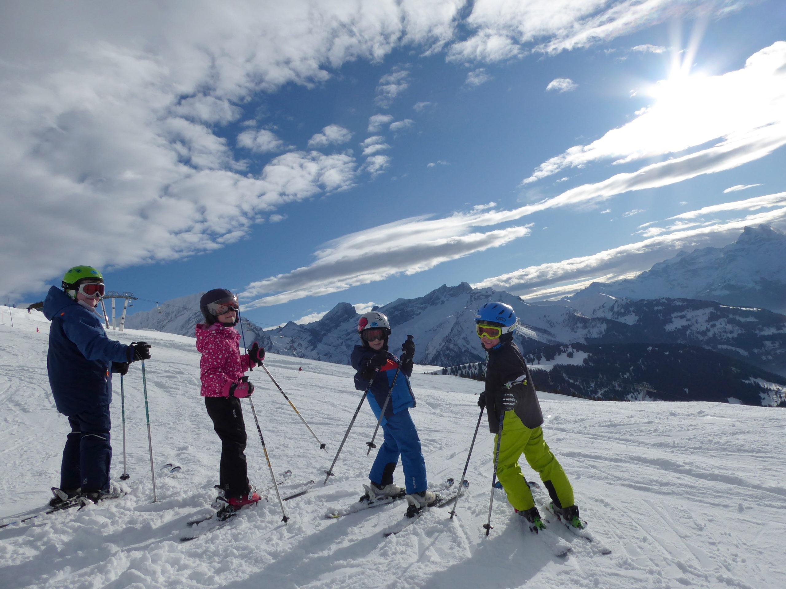 Cours Collectifs Ecole Suisse de Ski de Gryon