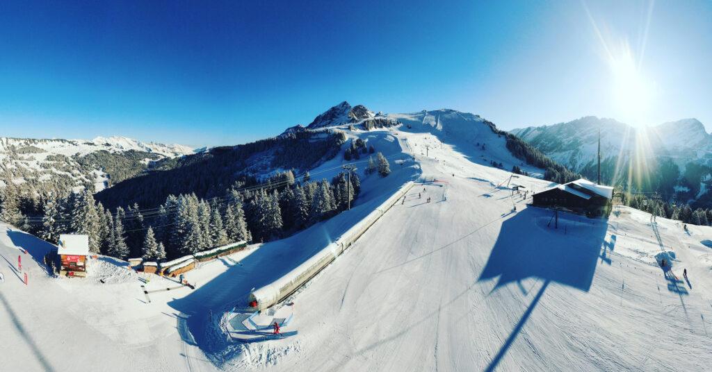 Ecole Suisse de Ski de Gryon Panoramique tapis roulant